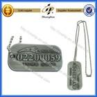hot sale military dog tag/metal dog tag/custom dog tag