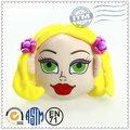 promoção de alta qualidade da moda top vendendo bonecos linda cabeça com cabelo