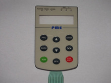 Home Appliance Application and F150PE Keypad Button Material rubber tactile switch