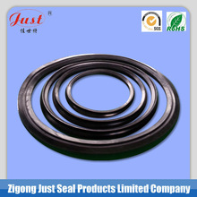 Rubber o-ring for HDPE