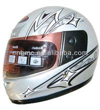 Protective full face dirt bike helmet