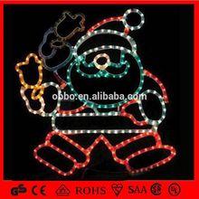 Xmas light Christmas Caps Santa Claus most fashionable new style christmas light decorations