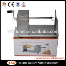 Stainless Steel Manual Commercial Spiral twist potato slicer /Potato Tower Machine Potato Slicer