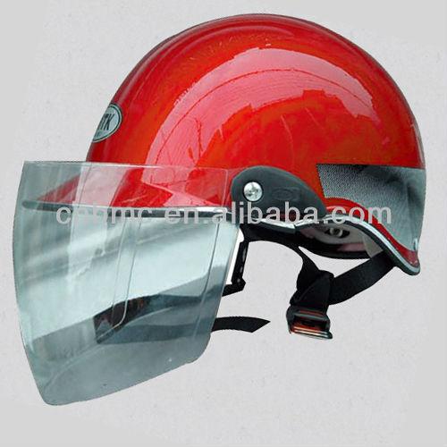 ABS half helmet with visor