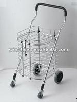 Aluminium Supermarket Shopping Trolley