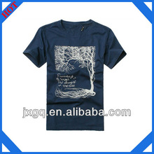 Custom design printed fashion mens wholesale 100% cotton t shirt