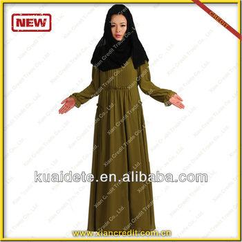2014 fashionable EID muslimah dress