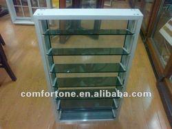 Aluminum adjustable glass louver
