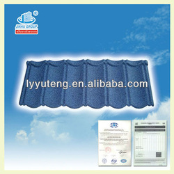 ISO SONCAP BV color stone coated metal roofing tile/sheet