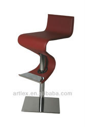 New Arrivals Modern Design Leather Bar Chair