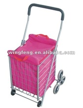Shopping Cart With Three Wheel SC-1056 pink