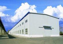 design prefab light steel structure power plant structure