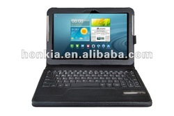 Leather Case Detachabl Bluetooth Wireless Keyboard for galaxy tab 10.1(P7500/7510 and P5100/5110)