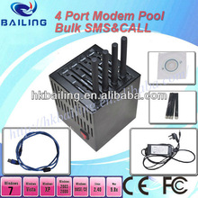 for mobile recharge or bulk sms advertisement 4 port modm pool