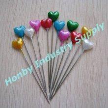 Islamic products, 55mm heart shaped bulk hijab pin