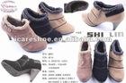 2013 Fashion Genuine High Heel Leather Shoes
