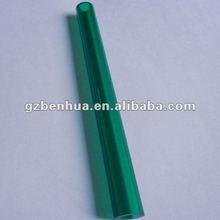 dark green pmma tube /color plexiglass pipe /acrylic tube