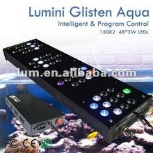 super bright acrylic 100gallon 150W diy waterproof led aquarium light bar