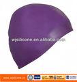 personalizado de silicone touca de natação