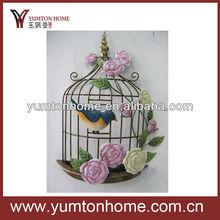 metal birdcage wall art
