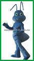 azul ant mascota vestuario para adultos traje de hormiga
