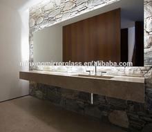 high quality 2mm-6mm bathroom wall aluminum mirror sheet