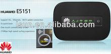 Mini portable wifi,huawei e5151 4g modem router wifi unlock huawei e5151