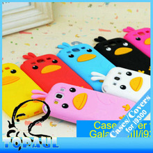 2013 popular style cute lovley animal chick cover silicone cartoon case for galaxy s3 i9300 mobile phone accessory