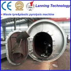 the newest generation full automatic factory direct continuous waste tyre recycling plant with certification of CE,ISO