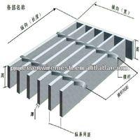 galvanized welded Floor Grating Steel Grid Plate,building materials