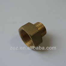 Brass Hex Reducing Adapter , Brass Threaded Hex Reducing Reducer Bushing Pipe Adapter