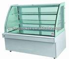 horizontal cake pastry Display Cabinet Cooler, cake refrigeration shwocase
