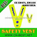 en forma de v para niños de alta visibilidad chaleco de seguridad en1150 2 clase