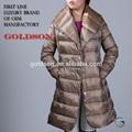 2014 estilo italiano moderno abrigo de invierno para las mujeres