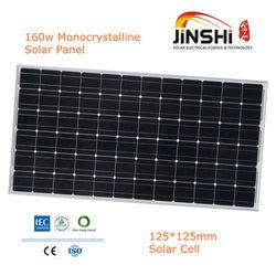 A Grade Solar Cell Price per Watt 160w pv China Solar Panel 156*156mm
