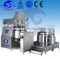 Automatic Ekato vacuum emulsifying machine mixer for cream