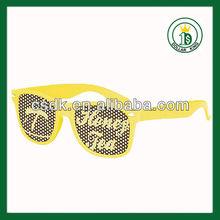 promotional Plastic custom Pin hole glasses