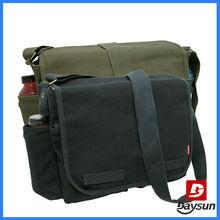 Retro canvas messenger bags military, wholesale men messenger bag