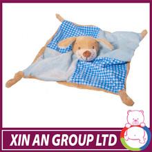 Sedex audit EN71 soft plush wholesale baby comforter for newborn baby gift