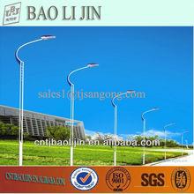 hot dip galvanized light poles for street lighting in Guangzhou