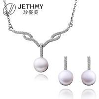 2012 fashion necklace set pearl necklace designs wholesale