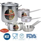 LOW MOQ Induction Ready Hotel & Restaurant 18 10 stainless steel cookware