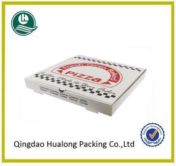 Custom cheap corrugated pizza boxes