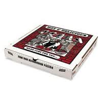 Custom cheap corrugated pizza boxes