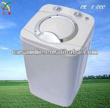 PP plastic single tub mini washing machine/washer use copper motor