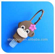 1floz/29ml/30ml 3D animal shape Body&Bath Work silicone hand sanitizer holders/sanitizer hand gel