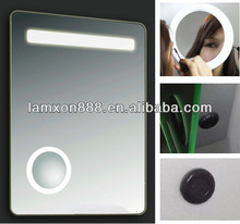 LED magnifying mirror for lady's makeup