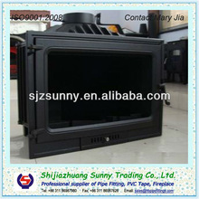 Pure Cast Iron Wood Burning Fireplace & Parts