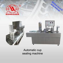 Plastic Cup packing Machine,Milk Tea Cup Sealer With High Quality