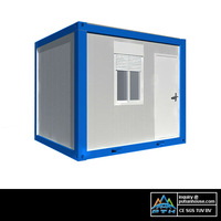 (EPS/PU/XPS/Rockwool+)Sandwich wall panel container house